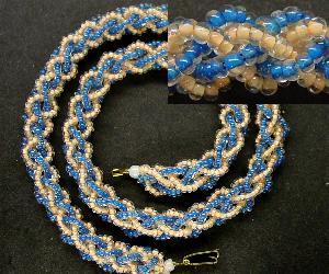 Best.Nr.:60032 Perlenkette um 1950 in Gablonz/Böhmen hergestellt Die Kette besteht aus schönen antiken Rocailles. Ein Leckerbissen für Sammler oder als Fundgrube für die Schmuckgestaltung.