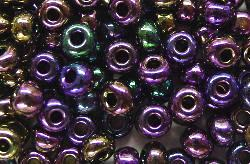 Best.Nr.:07058 Rocailles von Ornella Preciosa Tschechien,  violett metallic