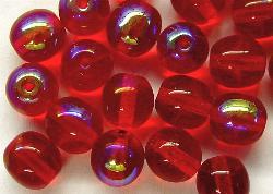 Best.Nr.:22204 Glasperlen rot mit AB
