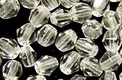 Best.Nr.:27226 facettierte Glasperlen kristall Bicon, hergestellt in Gablonz Tschechien