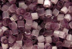 Best.Nr.:16001 Schnittperlen Satinglas violett, hergestellt von Ornella Preciosa Tschechien,