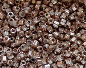 Best.Nr.:63481 Glasperlen in den 1920/30 Jahren in Gablonz/Böhmen hergestellt 2-cut silberfarben
