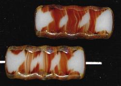 Best.Nr.:67216 Glasperlen / Table Cut Beads geschliffen mit picasso finish