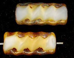 Best.Nr.:67211 Glasperlen / Table Cut Beads geschliffen mit picasso finish