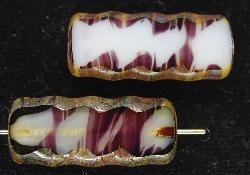 Best.Nr.:67212 Glasperlen / Table Cut Beads geschliffen mit picasso finish