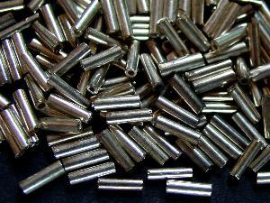 Best.Nr.:63496 Glasperlen in den 1920/30 Jahren in Gablonz/Böhmen hergestellt siberfarben