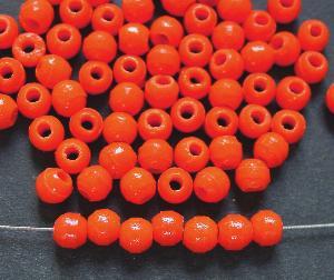 Best.Nr.:63562 Glasperlen (Prosserbeads) in den 1920/30 Jahren in Gablonz/Böhmen hergestellt, orange