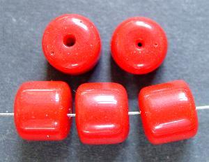 Best.Nr.:63552 Glasperlen in den 1920/30 Jahren in Gablonz/Böhmen hergestellt, rot