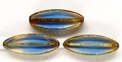 Best.Nr.:67253 Glasperlen / Table Cut Beads geschliffen mit picasso finish,  hergestellt in Gablonz / Tschechien