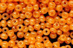 Best.Nr.:04020 Rocailles von Ornella Preciosa Tschechien,  orange