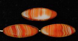 Best.Nr.:67226 Glasperlen / Table Cut Beads geschliffen mit picasso finish,  hergestellt in Gablonz / Tschechien