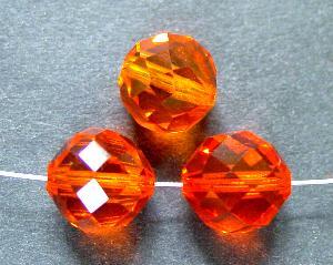 Best.Nr.:31043 mc-Schliff Glasperlen orange transparent