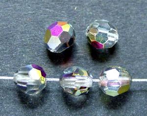 Best.Nr.:31044 mc-Schliff Glasperlen kristall mit AB