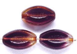 Best.Nr.:67241 Glasperlen / Table Cut Beads geschliffen mit picasso finish,  hergestellt in Gablonz / Tschechien