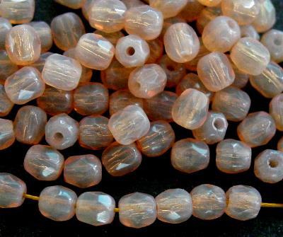 Best.Nr.:26325 facettierte Glasperlen Opalglas