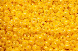 Best.Nr.:02013 Rocailles von Ornella Preciosa Tschechien, gelb /schimmernd (lüster)