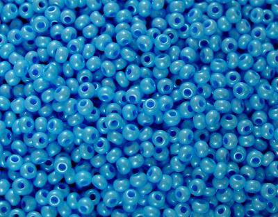 Best.Nr.:04004 Rocailles von Ornella Preciosa Tschechien,  hellblau