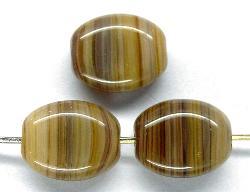 Best.Nr.:46210 Glasperlen Olive flach