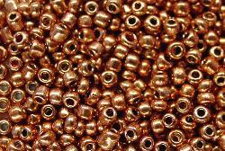 Best.Nr.:07054 Rocailles von Preciosa Ornella Tschechien hergestellt,  metallic