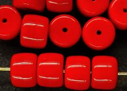 Best.Nr.:48011 Glasperlen Walze rot