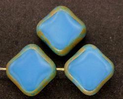 Best.Nr.:67267 Glasperlen / Table Cut Beads geschliffen mit picasso finish