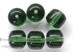 Best.Nr.:57249 Glasperlen Nuggets russischgrün