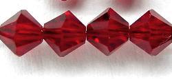 Best.Nr.:31010 mc-Schliff Glasperlen red bicon