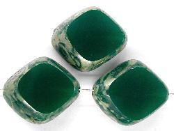 Best.Nr.:67379 Glasperlen / Table Cut Beads geschliffen, mit picasso finish
