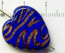 Best.Nr.:45-0924 handgefertigte Lampenperle aus den Böhmischen Glashütten