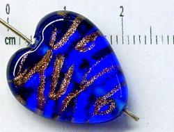 Best.Nr.:45-0926 handgefertigte Lampenperle aus den Böhmischen Glashütten