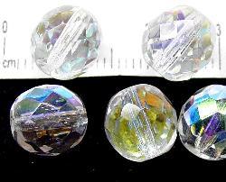 Best.Nr.:28176 facettierte Glasperlen kristall mit AB