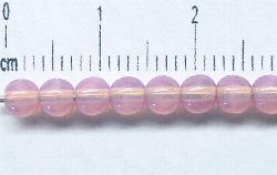 Best.Nr.:22195 Glasperlen rosa opal