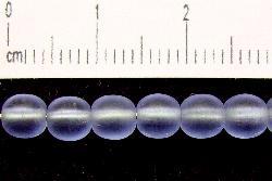 Best.Nr.:22173 Glasperlen hell aquaviolett mattiert