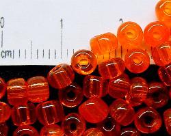 Best.Nr.:08015 Rocailles von Ornella Preciosa Tschechien,  orange transparent