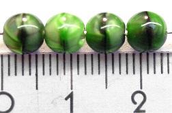 Best.Nr.:22050 Glasperlen grün marmoriert
