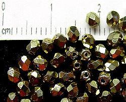 Best.Nr.:24033 facettiert Glasperlen mit Wachsüberzug