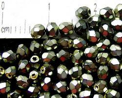 Best.Nr.:24020 facettiert Glasperlen mit Wachsüberzug