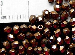 Best.Nr.:24029 facettiert Glasperlen mit Wachsüberzug