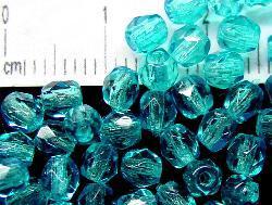 Best.Nr.:24024 facettierte Glasperlen mit Wachsüberzug