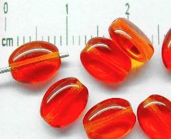 Best.Nr.:46151 Glasperlen Olive flach orange