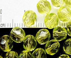 Best.Nr.:24053 facettierte Glasperlen mit Wachsüberzug