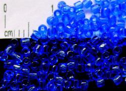 Best.Nr.:18002 3-Cutbeads von Ornella Preciosa Tschechien blau