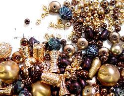 Best.Nr.:6201 Glasperlen Mix  in Metallic 500 bis 1000 Glasperlen in verschiedensten Formen. Menge je nach Zusammensetzung der Mischung.