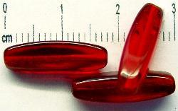 Best.Nr.:46119 Glasperlen    Olive vierkantig rot