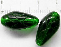 Best.Nr.:50040 Glasperlen Knospen grün transp.