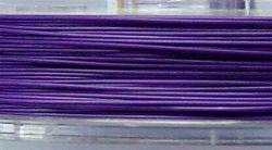 Best.Nr.:36014 Edelstahldraht nylonummantelt,blauviolett