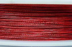 Best.Nr.:36016  Edelstahldraht nylonummantelt,rot