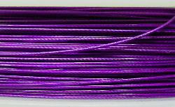 Best.Nr.:36015  Edelstahldraht nylonummantelt,violett