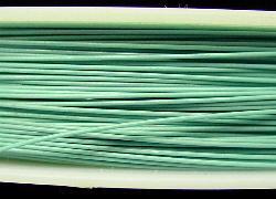 Best.Nr.:36012  Edelstahldraht nylonummantelt,türkisgrün