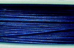 Best.Nr.:36013  Edelstahldraht nylonummantelt,blau
